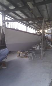 Couta Boat restoration complete.